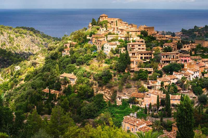 The picture-postcard village of Estellencs