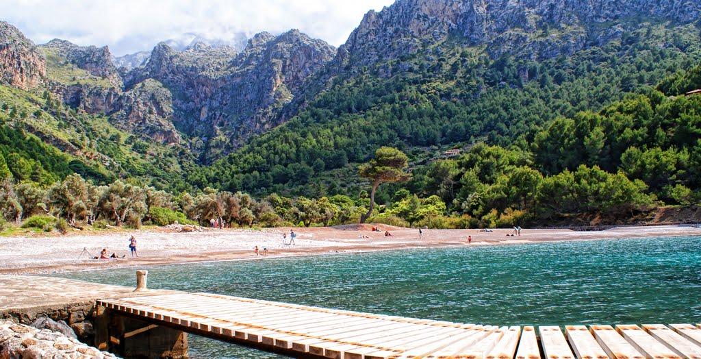 Cala Tuent, an esmerald – green paradise