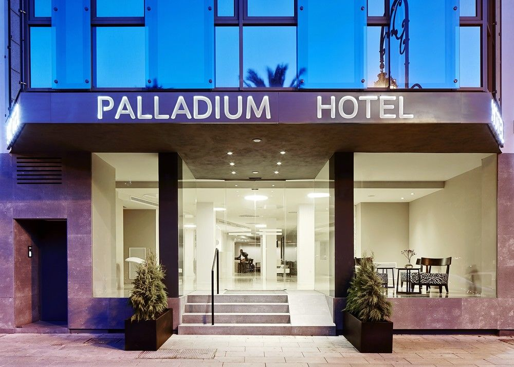 The elegant four star Hotel Palladium