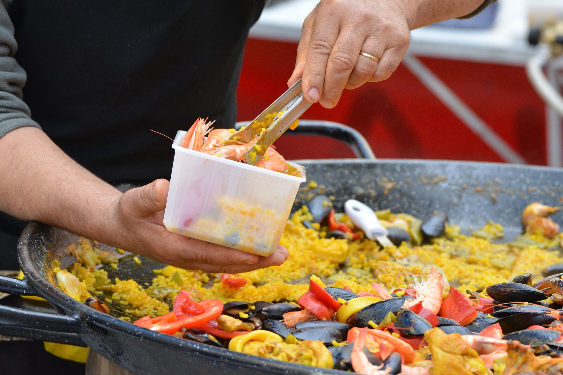 When you love paella, you travel in Mallorca
